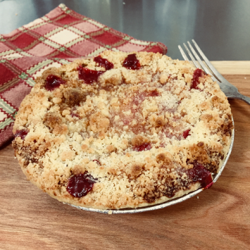 Baked Cherry Crumb Pie - Small