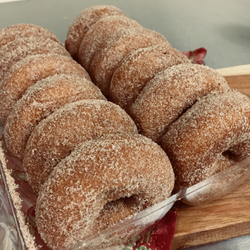 Apple Cider Donuts - One Dozen
