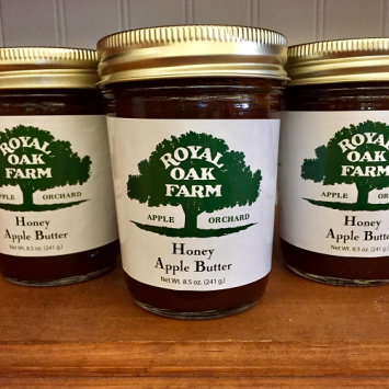 Apple Butter with Honey - 8.5 oz.