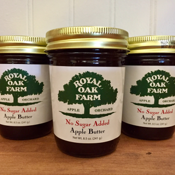 Apple Butter with no Added Sugar - 8.5 oz.