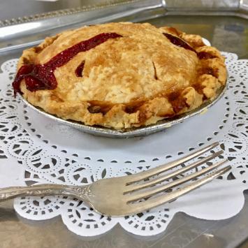 Baked Blackberry Raspberry Pie - Small