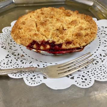 Baked Lakeshore Berry Crumb Pie - Small