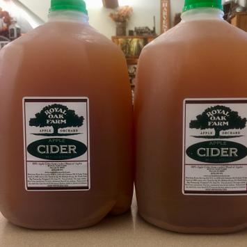 Apple Cider - One Gallon