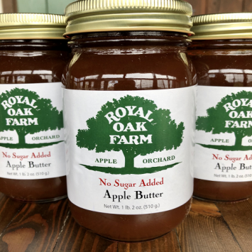 Apple Butter with No Sugar Added - 1 lb. 2 oz.
