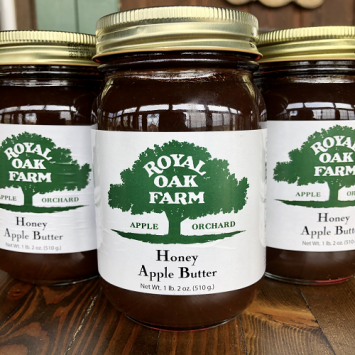 Apple Butter with Honey - 1 lb. 2 oz.