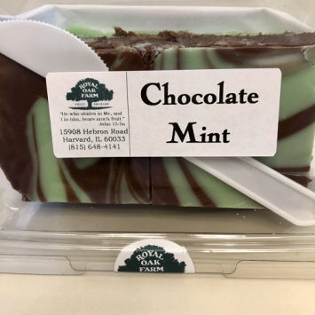 Fudge - Chocolate Mint (2 piece package)