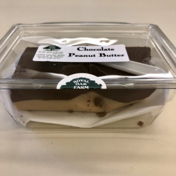 Fudge - Chocolate Peanut Butter (2 piece package)