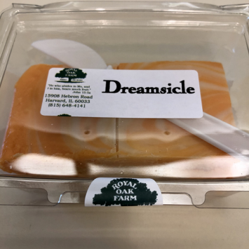 Fudge - Orange Dreamsicle (2 piece package)