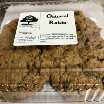 Cookies - 4 Pack of Oatmeal Raisin