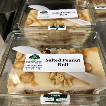Fudge - Salted Peanut Roll (2 piece package)