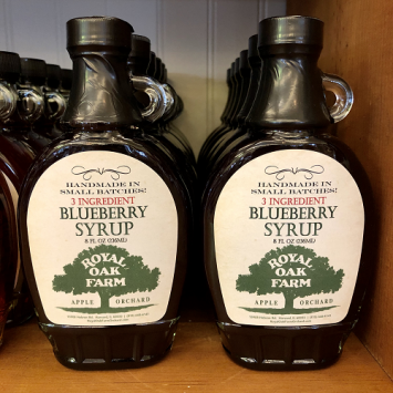 Syrup - Blueberry