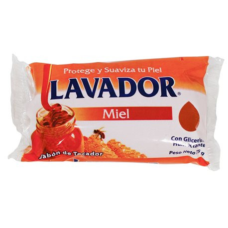 Jabon Lavador Con Miel 3.88 Oz
