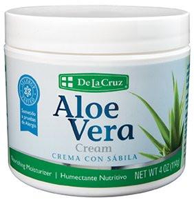 Crema Aloe Vera DE LA CRUZ 4 Oz