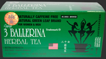Te Herbal 3 BALLERINA 1.88 Oz