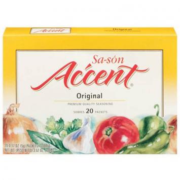 Sa-son Original ACCENT 3.52 Oz 20 Sobres