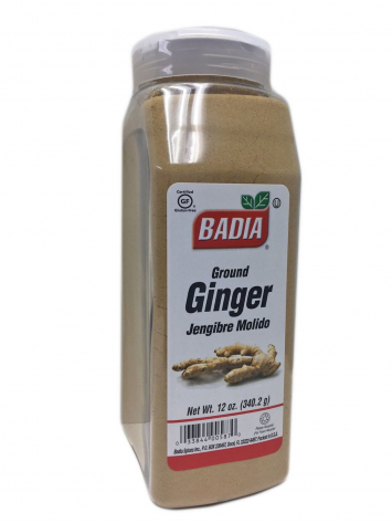 Ground Ginger Jengibre Molido BADIA 12 Oz