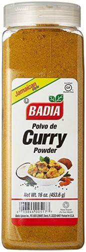 Polvo De Curry BADIA 16 Oz