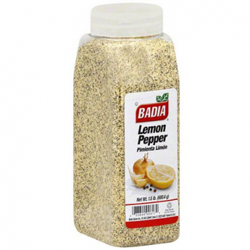Pimienta Limon BADIA 1.5 Lb