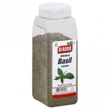 Albahaca Basil Leaves BADIA 4 Oz