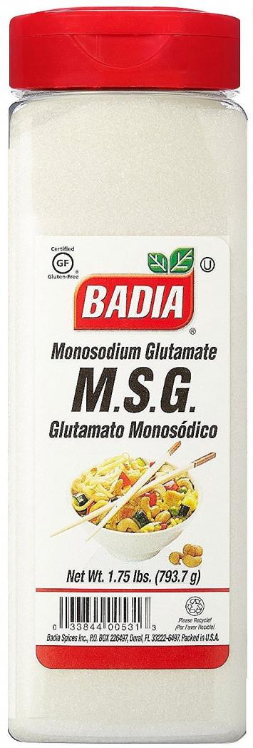 Glutamato Monosodico BADIA 1.25 Lb