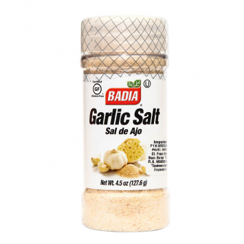 Garlic Sal de Ajo BADIA 4.5 Oz