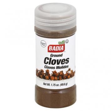 Clavo Cloves Molido BADIA 1.25 Oz
