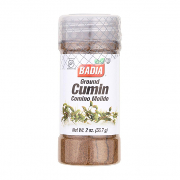 Ground Cumin Comino Molido BADIA 2 Oz