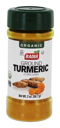 Ground Turmeric Curcuma Molida BADIA 2 Oz