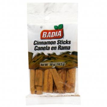 Cinnamon Canela Entera BADIA .50 Oz
