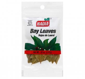 Bay Leaves Hojas de Laurel  BADIA .20 Oz