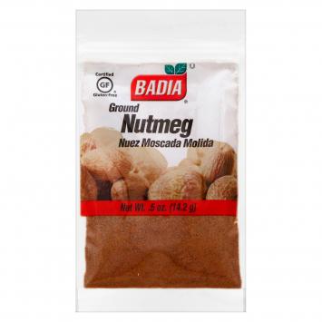 Nutmeg Nuez Moscada Molida BADIA .5 Oz