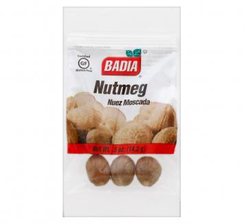 Nutmeg Nuez Moscada BADIA .5 Oz
