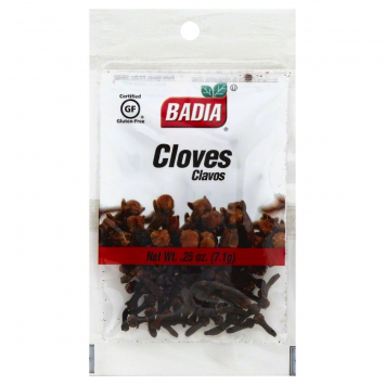 Cloves Clavos BADIA 0.25 Oz