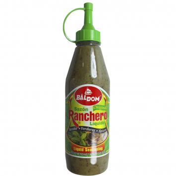 Sazon Ranchero Liquido Verde BALDOM 15.5 oz