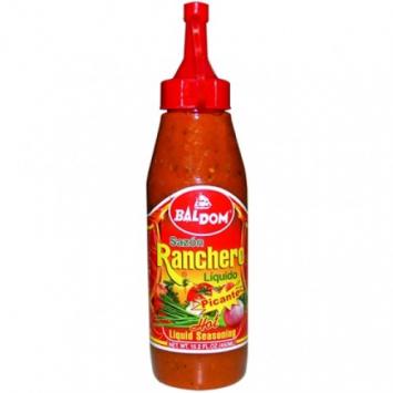 Sazon Ranchero Liquido Picante BALDOM 15.5 oz