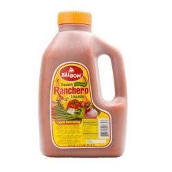 Sazon Ranchero Liquido BALDOM 120 oz