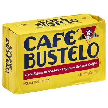 Cafe BUSTELO Espresso Molido 6 Oz