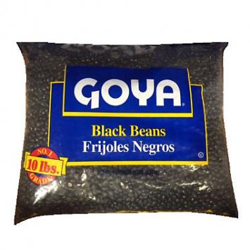 Frijoles Negro GOYA 10 Lbs