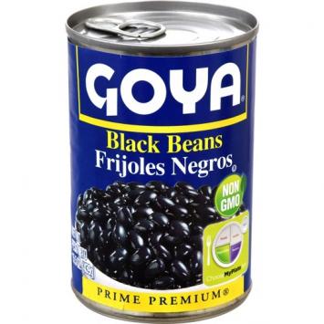 Habichuela Negras GOYA 15.5 OZ