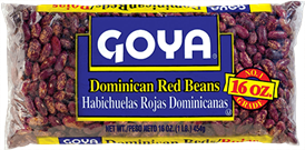 Habichuela Rojas Dominicanas GOYA