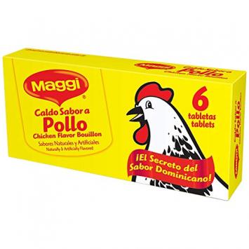 Caldo Sabor a Pollo en Tabletas 6 -2.4 oz MAGGI