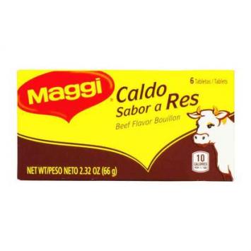 Caldo Sabor a Res en Tabletas 6 -2.4 oz MAGGI