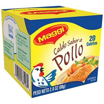Caldo Sabor a Pollo en Tabletas 20 -2.8 oz MAGGI