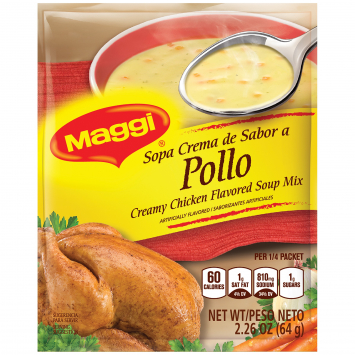 Sopa Crema Sabor a pollo MAGGI 2.26 Oz