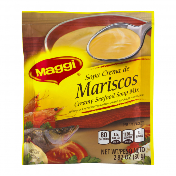 Sopa Crema de Mariscos  MAGGI 2.26 Oz