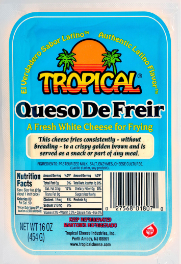 Queso Blanco de Freir TROPICAL 16 Oz