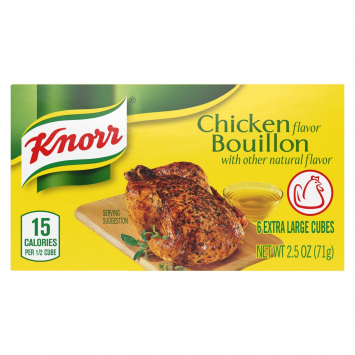 Caldo Sabor a Pollo KNORR 2. 5 Oz 6 Cubos
