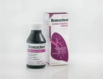 Jarabe Expectorante BRONCOCHEM 4 Oz