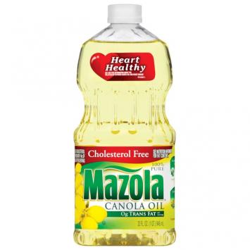 Aceite Canola MAZOLA 32 Oz