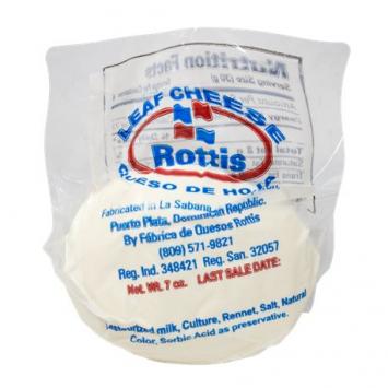 Queso de Hoja Dominicano ROTTIS
